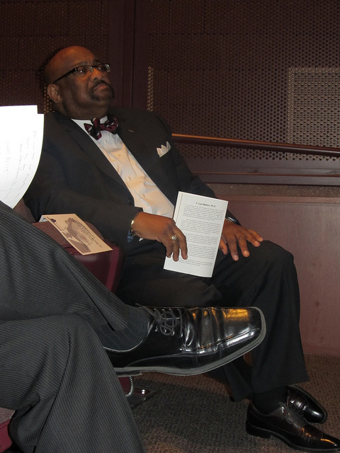 President Robert Jennings during a January convocation (Courtesy of the Office of Communications and Public Relations)