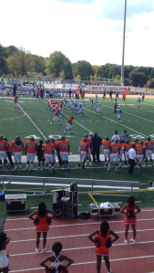 The Lincoln Lions took on the Livingstone College Blue Bears on Saturday, Sept. 28, in the Lions' home opener. The Lions lost, 35-7.