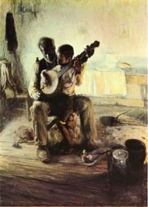 The Banjo Player, by Henry Ossawa Tanner