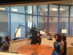 Devin Hall, Melissa Quinones and Asia Black are the hosts of The Lincoln Drive, airing 1 p.m. Tuesdays on WWLU 88.7 FM. LONDON MCAULEY/THE LINCOLNIAN