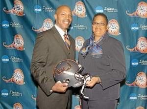 Ford-Kee, right,  left Athletic Director post last semester